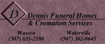 Dennis Funeral Homes - Waseca & Waterville