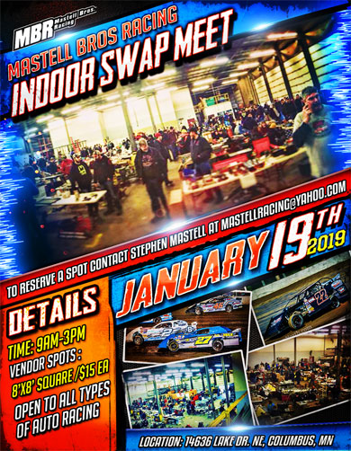 Mastell Bros Racing Indoor Swap Meet
