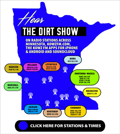 Dirt Show Coverage Map