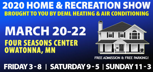 2020 Home & Recreation Show brought to you by Deml Heating and Air