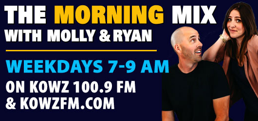 The KOWZ Morning Mix with Molly & Andy